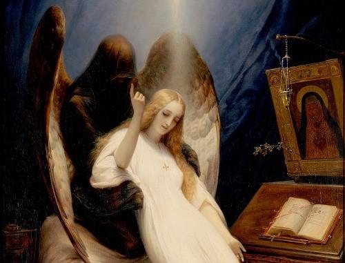 Horace Vernet - Anděl smrti